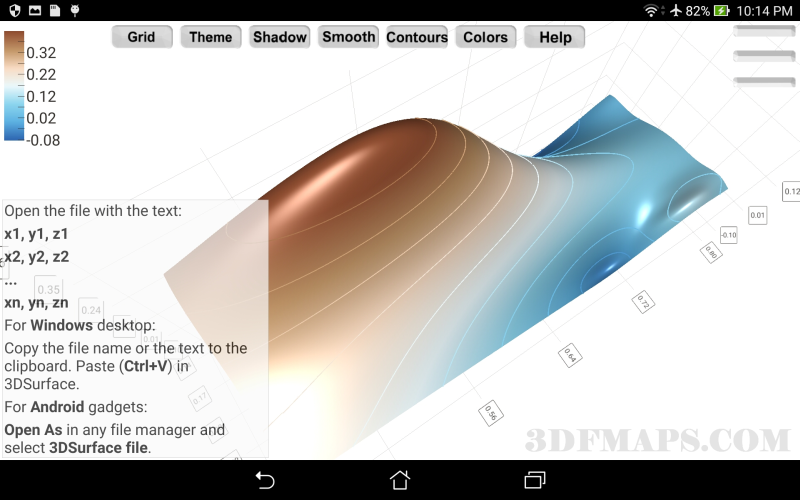 Android 3DSurface x86