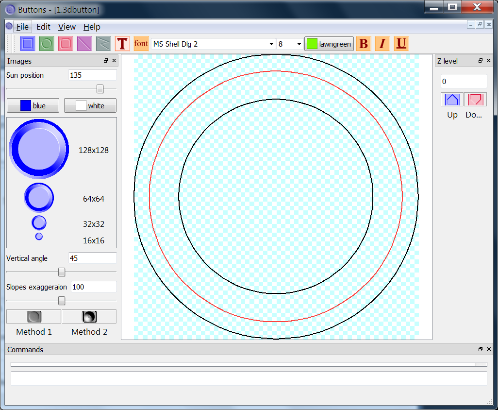 3d map and contour plot create contour chart for Map drawing program